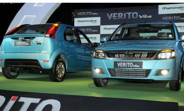 mahindra launches compact car verito vibe at rs 5.63 lakh