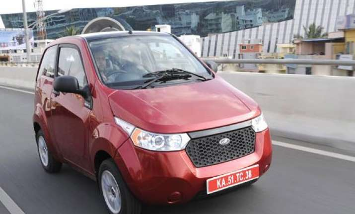 mahindra enters bhutan launches electric car e2o