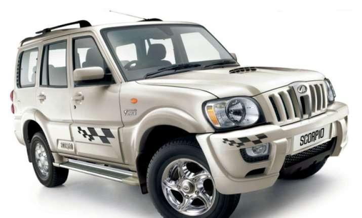 mahindra launches 2013 scorpio special edition