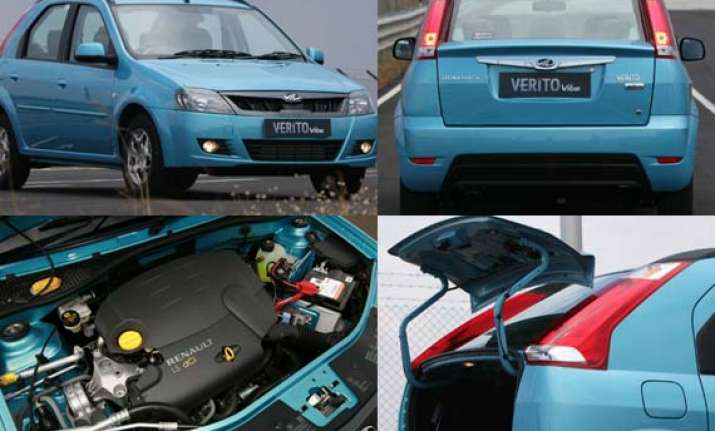 mahindra s compact car verito vibe pictures and details