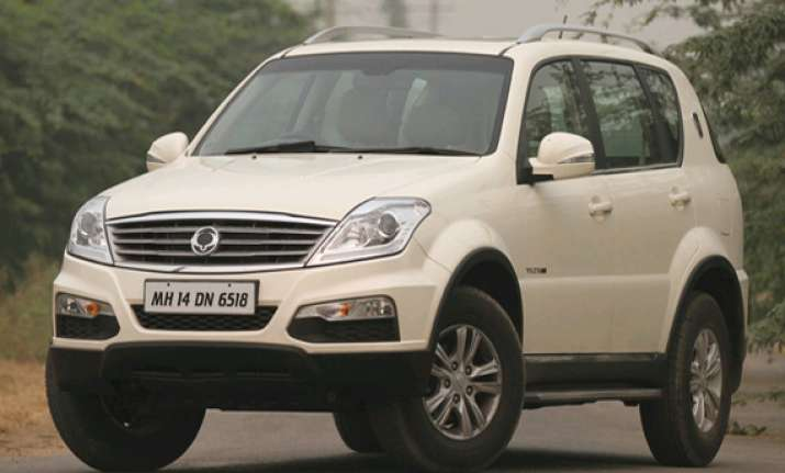 mahindra s luxury suv ssangyong rexton rx6 launched in