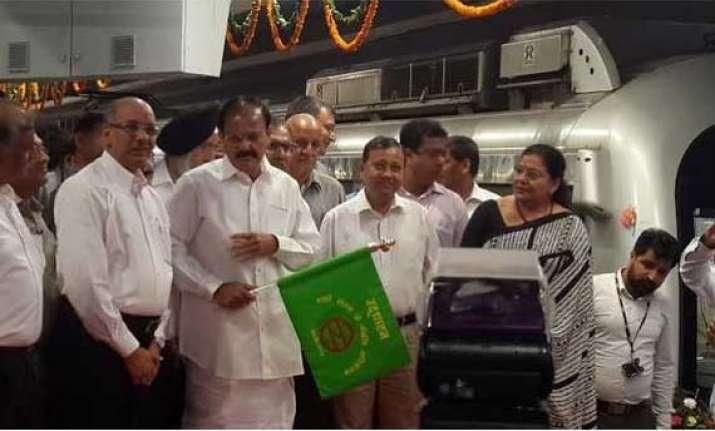 mandi house central secretariat metro section thrown open