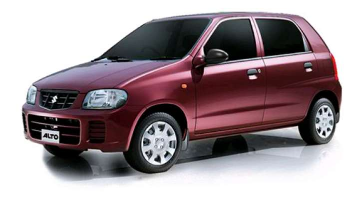 maruti alto crosses 25 lakh unit sales mark