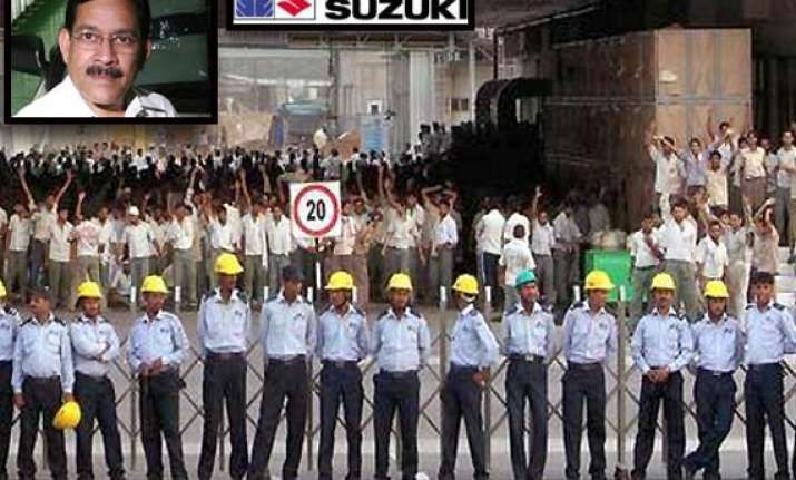 maruti suzuki softens stand strikers demand reinstatement