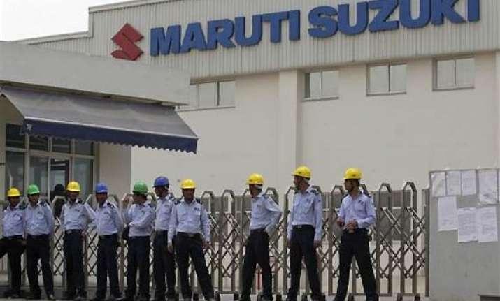 maruti to shut gurgaon plant for 2 days manesar strike on