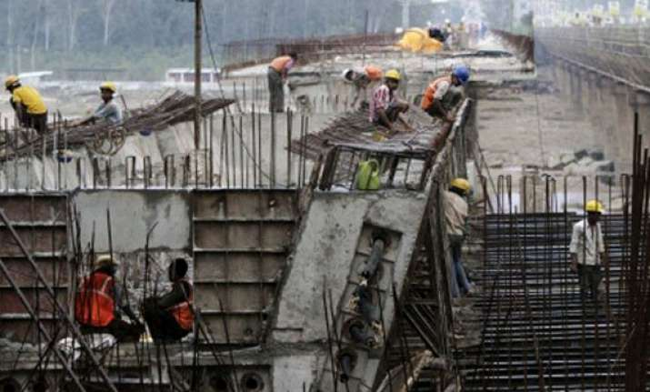 may infrastructure output growth slows to 2.3