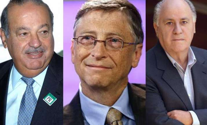 meet 10 richest people on the planet 2013 in pictures