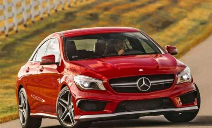 mercedes benz launches cla 45 amg prices it at rs 68.5 lakh