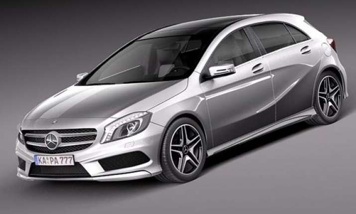 mercedes benz launches a class compact for rs 22.73 lakhs