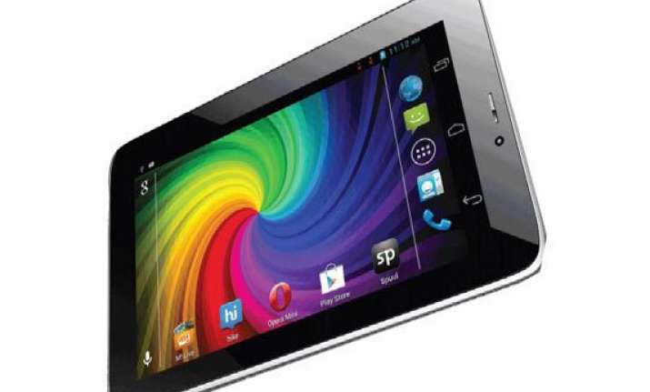 micromax canvas p650e cdma tablet now available for rs 9 000