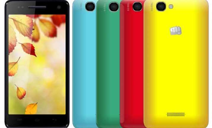 micromax canvas 2 colours a120 listed online