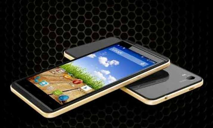 micromax canvas fire a104 with android 4.4 kitkat launched