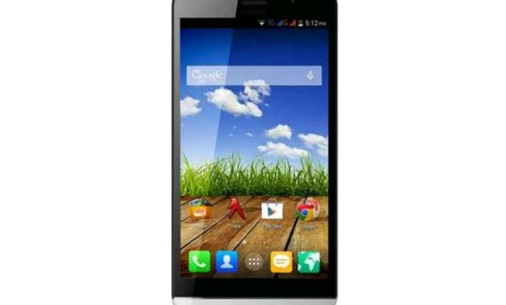 micromax canvas l launched for rs 10 499