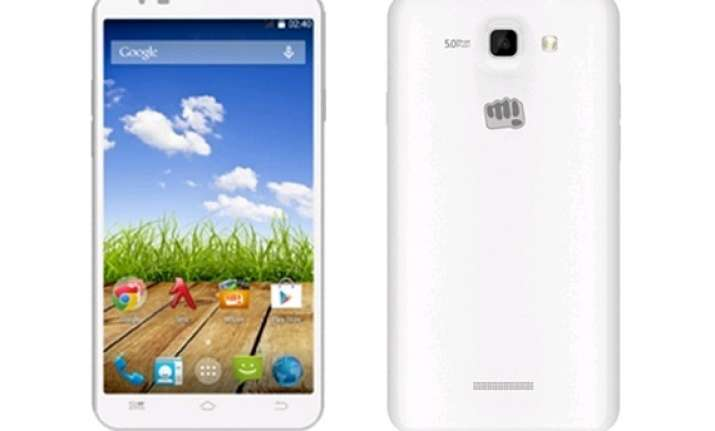 micromax canvas xl2 available online at rs 10 999
