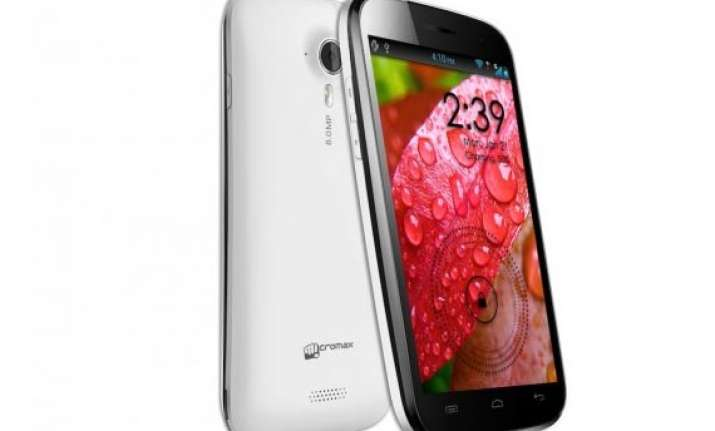 micromax canvas a116 launched