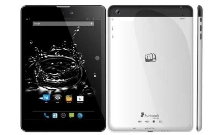 micromax funbook ultra hd p580 3g tablet listed at rs 11 990