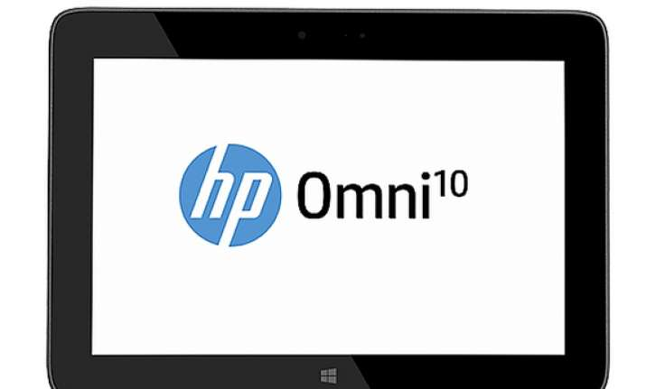 microsoft india and hp launch omni 10 windows 8.1 tablet