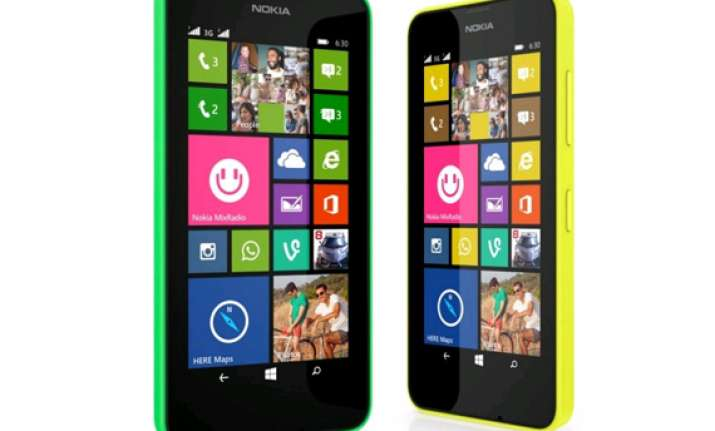 microsoft launches lumia 630 starting at rs 10 500