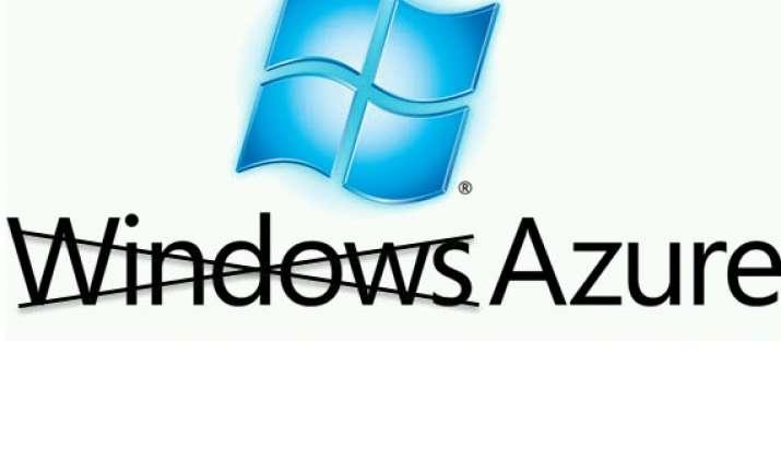microsoft rebrands windows azure as microsoft azure