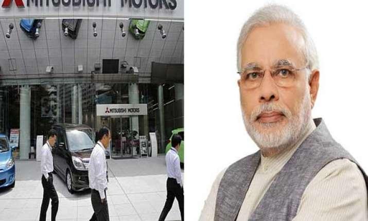 mitsubishi corp ceo calls on narendra modi
