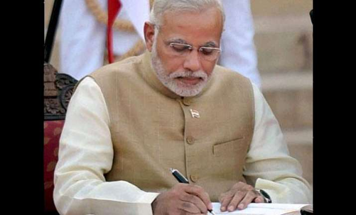 modi writes e mail to bank officers asks to ensure everyone