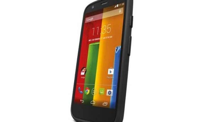 moto g forte with rugged grip shell listed on company s