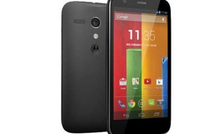 moto g launched in india for rs 12 499 available on flipkart
