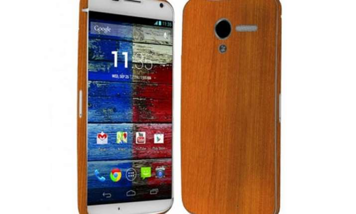 motorola moto x with wood backs all set to arrive in india