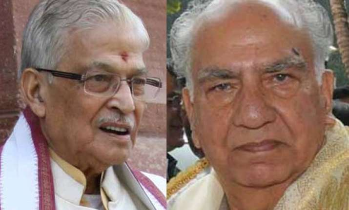 murli manohar joshi to head estimates committee shanta