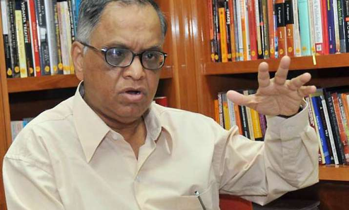 narayana murthy s last day as infosys chairman