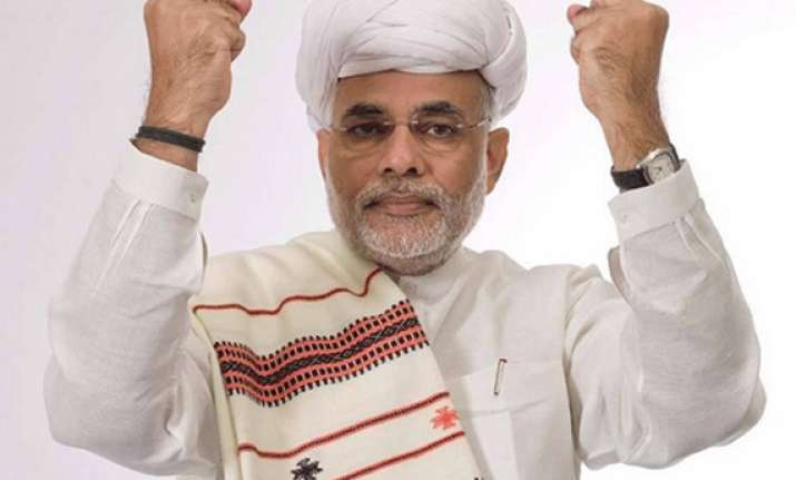 narendra modi appointed bjp s campaign committee chief for