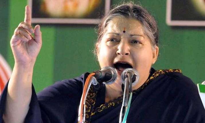 narendra modi s hindi row jayalalithaa sees red invokes