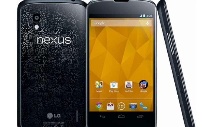 lg nexus 4 full phone specifications