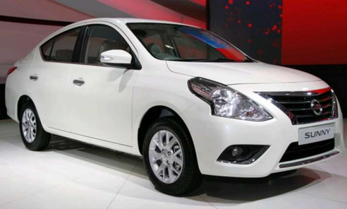 nissan 2014 sunny launched in india costs rs 7.29 lakh