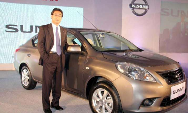 nissan launches diesel sunny