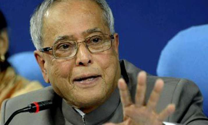 no need to panic over economic slowdown says pranab