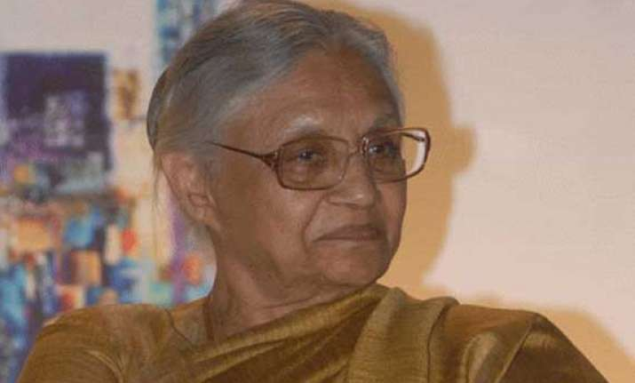no rollback of vat on cng says sheila dikshit