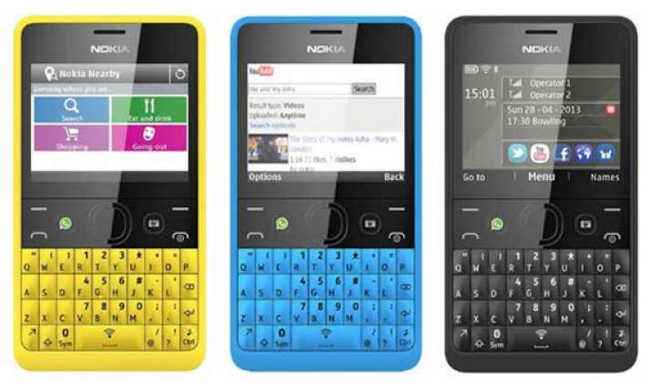 nokia asha 210 with facebook button up for pre order at rs