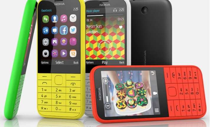 nokia 225 dual sim feature phone launched at rs 3 329
