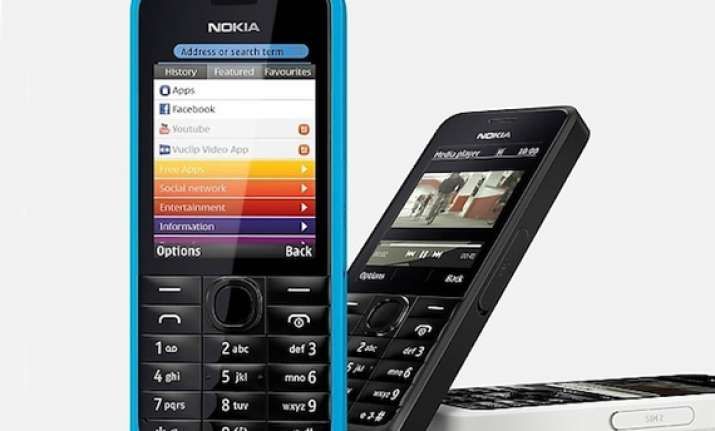 nokia 301 dual sim feature phone available online for rs 5