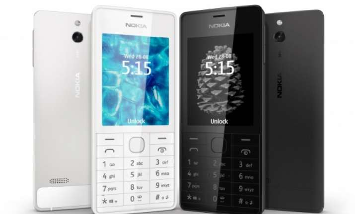 nokia launches the 515 a feature phone with aluminum body