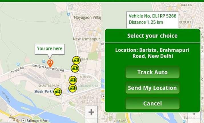 now book auto rickshaw ride in delhi with poocho app