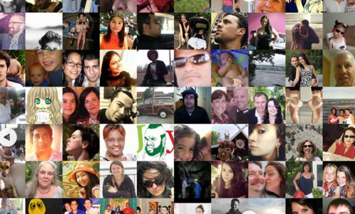 see the billion faces of facebook in one single page