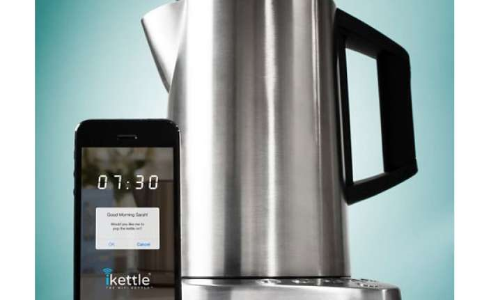 now smart kettle that is controlled by cellphone app