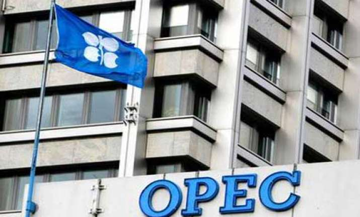 opec crude basket closes lower