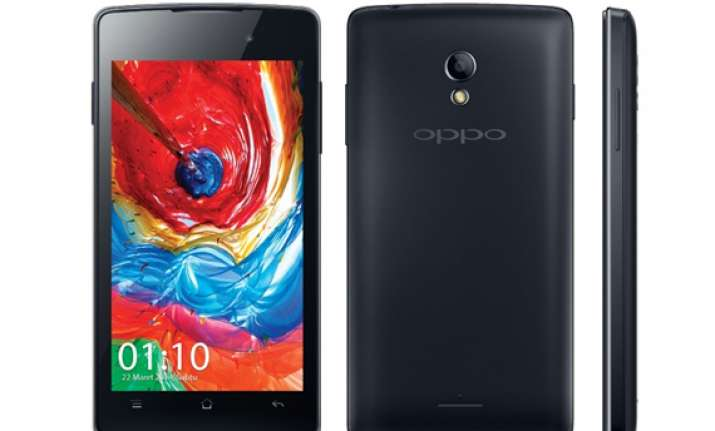 oppo joy with 4 inch display and dual sim support launched