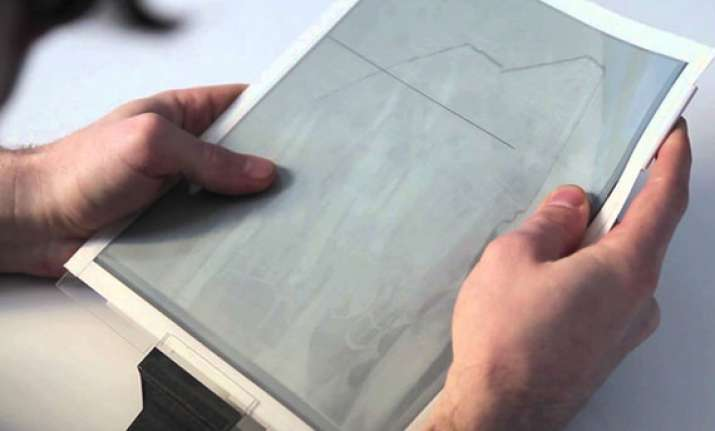 paper thin flexible tablets and tv displays could be a