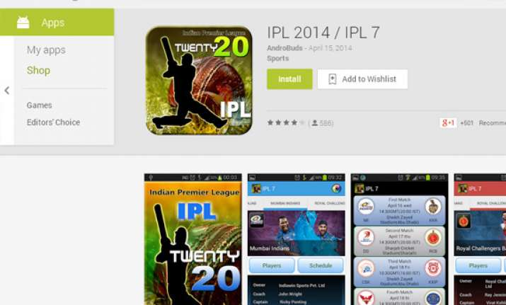 pepsi ipl 2014 top 5 apps to watch all the action on your