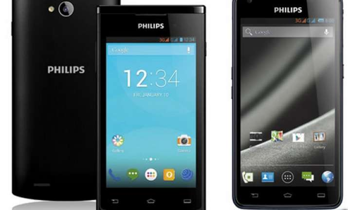 philips re enters india mobile phone market