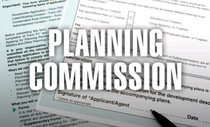 planning commission may not lower 12th plan growth target